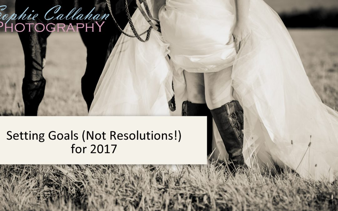 Setting Goals (Not Resolutions!) for 2017