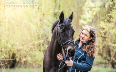 Monique & JJ – Equine Photoshoot, Cambridge