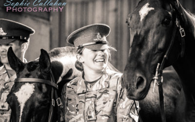 Visiting the King's Troop Royal Horse Artillery & What I Learnt