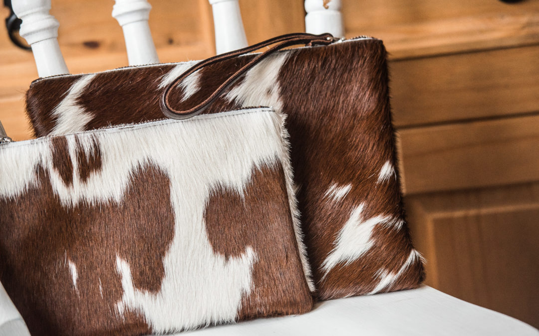 Everything You Need to Know About Those Cowhide Clutch Bags, With Hyde & Hare