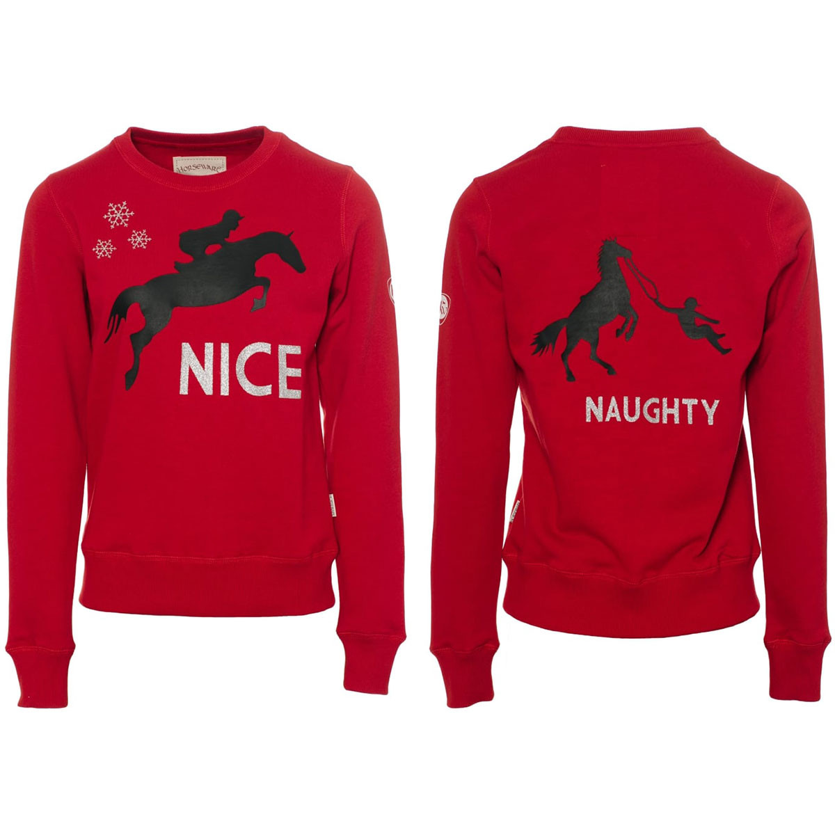 HORSEWARE ADULTS CHRISTMAS SWEATER