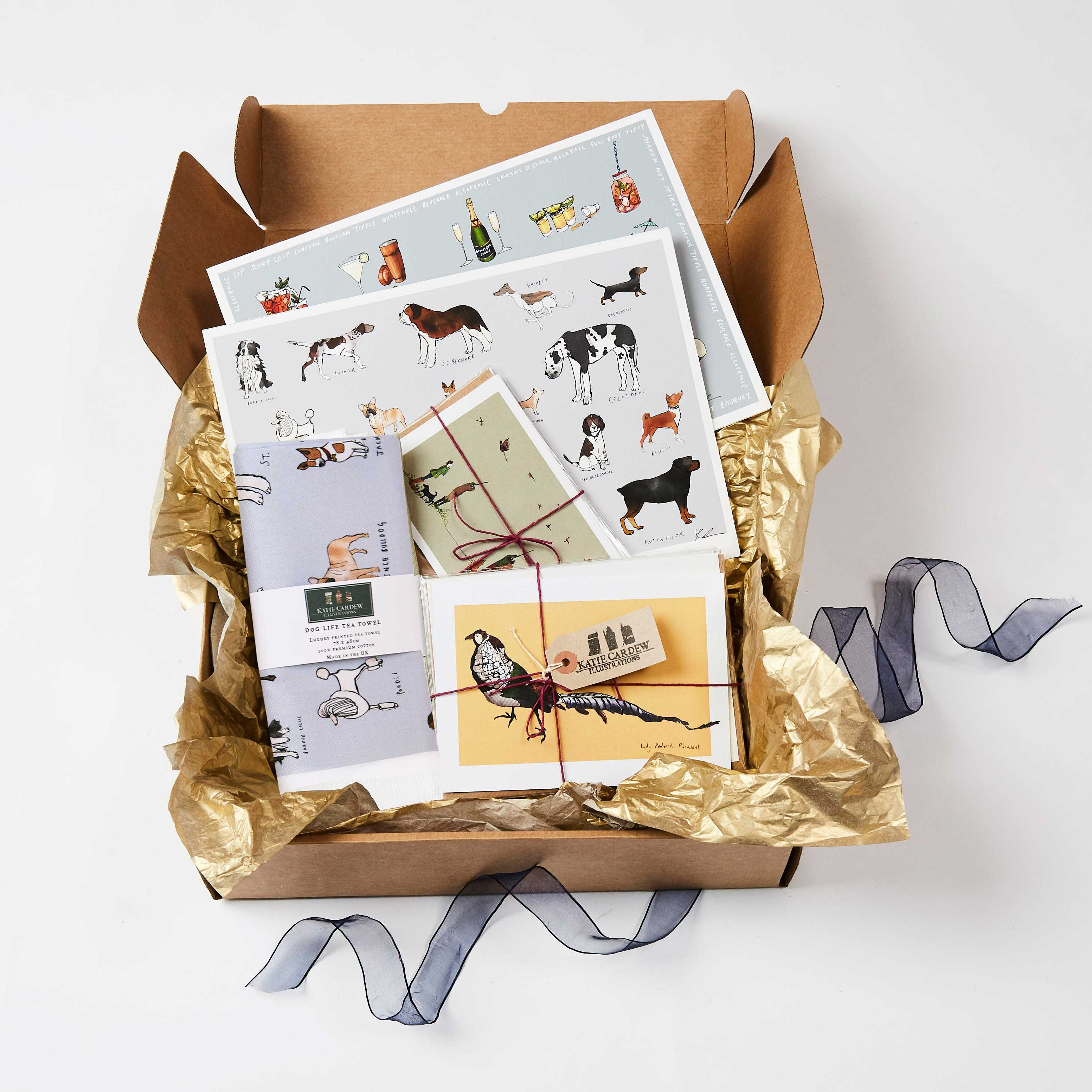 Country Kitchen Gift Box, From Katie Cardew Illustrations