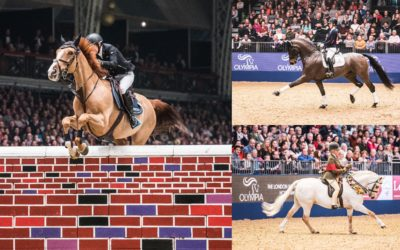 Behind the Scenes at Olympia Horse Show- Weekly Vlog #66