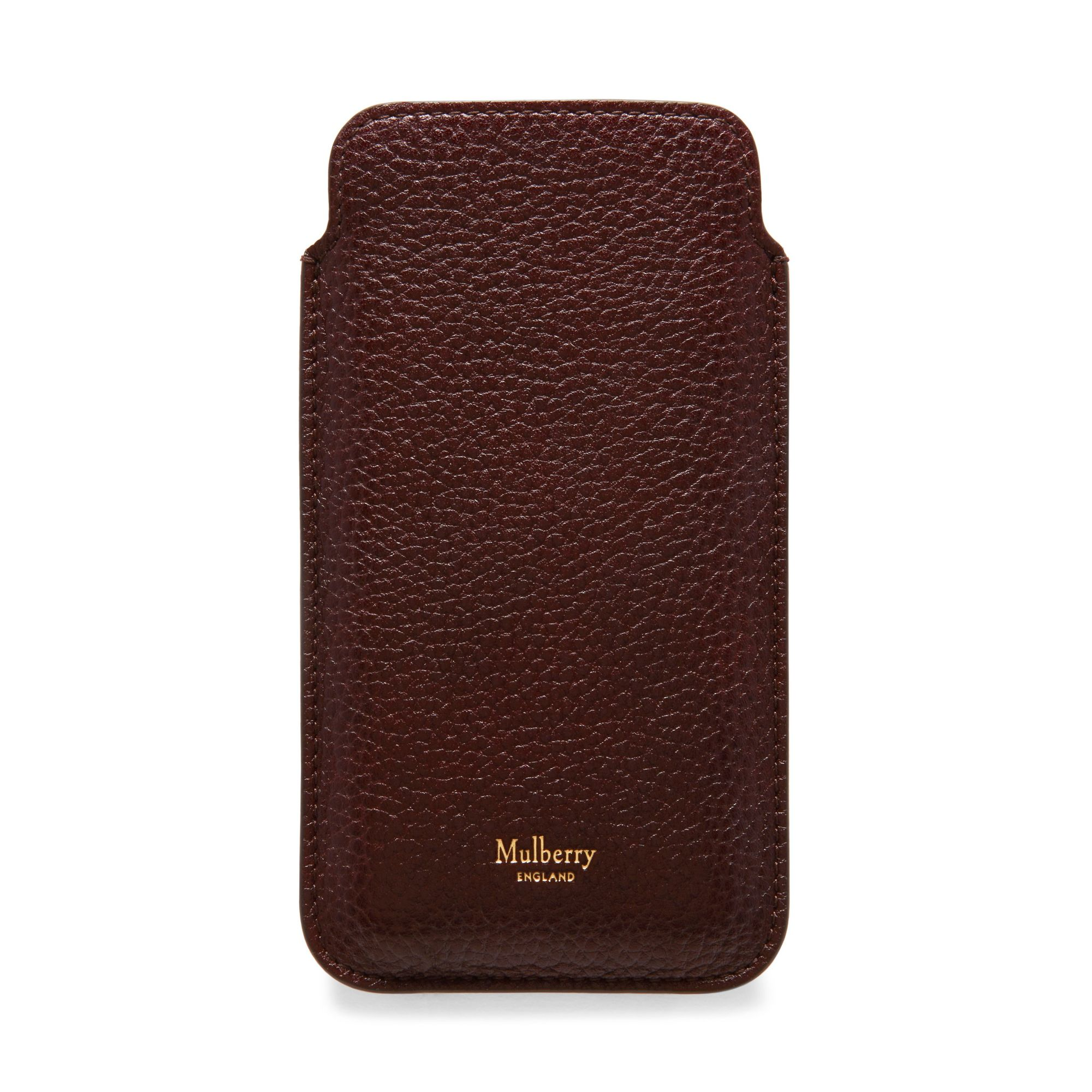 Mulberry Leather iPhone Cover