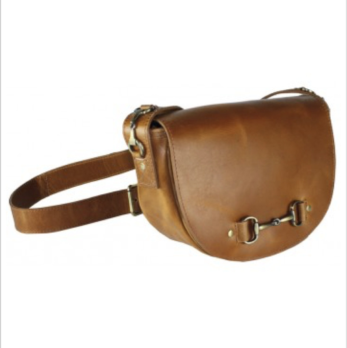 Haston Bag In Tan Leather, From Grays Country Gifts