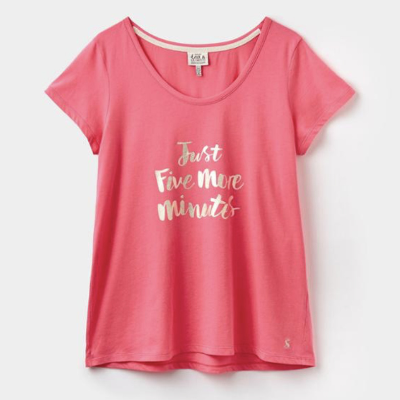 ANNA GRAPHIC JERSEY T-SHIRT, From Joules