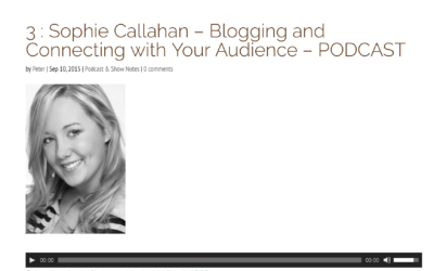 Blogging & Connecting With Your Audience, with the Equine Photographers Podcast