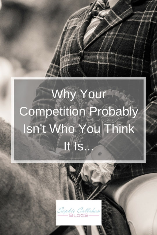 Why your competition probably isn't who you think it is... by Emma Warren from Hiho Silver - Equine Photographer and Country Lifestyle Blogger I via sophiecallahanblog.com I #lifestyleblogger #photography #countrylife